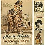 PMSMT Das Vintage-Poster der Chaplin-Komödien folgt Nicht blind...