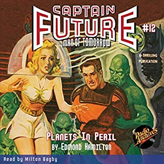 Captain Future #12: Planets in Peril cover art