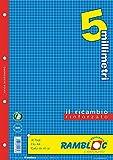 Ricambio rinforzato Rambloc Pacco da 4 Ricambi A4 5mm. (160 fogli totali)...