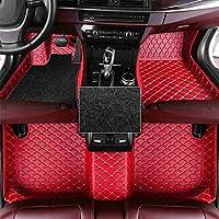 カーマット トヨタアバロンのカスタムカーフロアマット2006-2012フルカバレッジ全天候保護フロント&リアライナーセット (Color : Red)