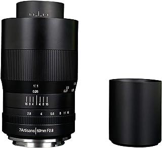 7artisans 60mm F2.8 カメラ交換レンズ 1:1超マイクロ距離 手動式 APS-Cプライムマクロアルミレンズ 固定式 花、昆虫など撮影が最適 Panasonic Olympus適用する マイクロM4 / 3マウント