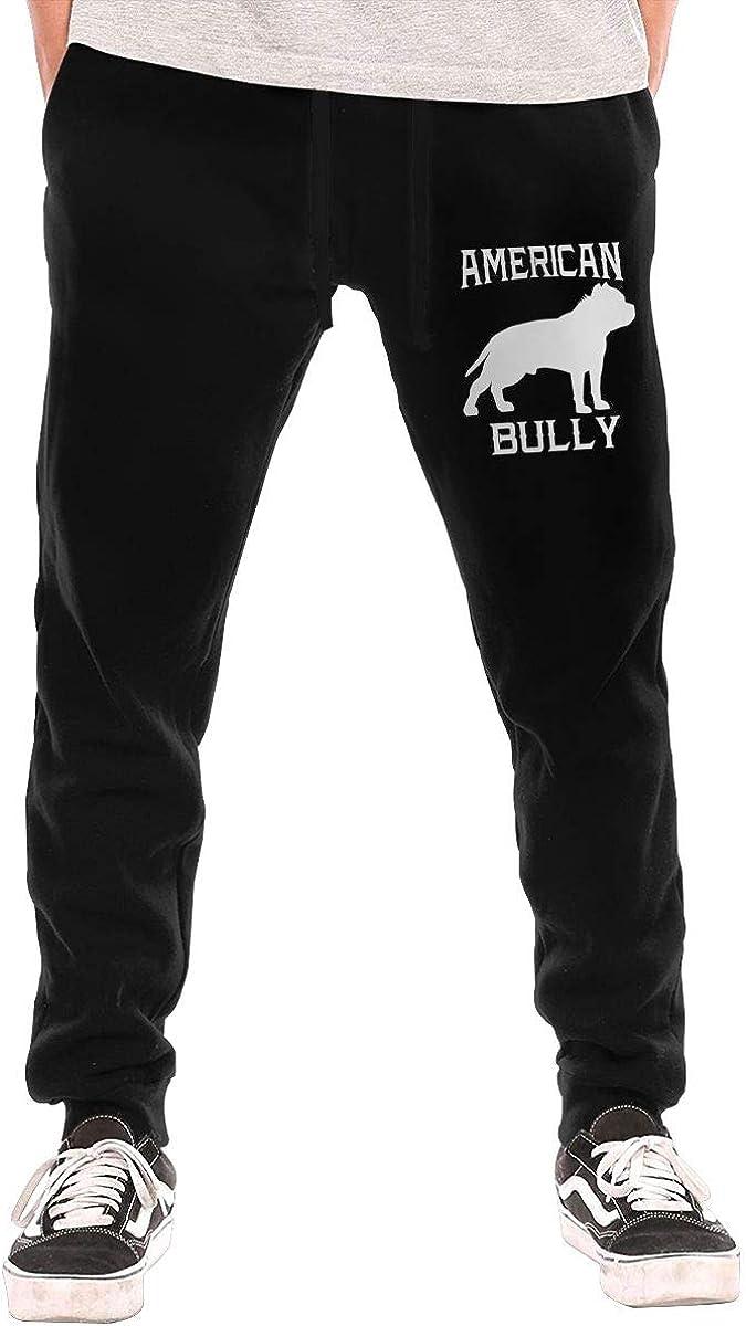 BibiQQgait 人気ショップが最安値挑戦 10%OFF Men's Jogger Sweatpants Bully American Stretch Casual