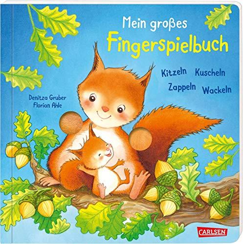 Mein großes Fingerspielbuch: Kitzeln, Kuscheln, Zappeln, Wackeln: Ein Mitmachbuch für die Sinne ab 1 Jahr