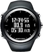 North Edge Erkek dijital kol saati GPS Running Kol saati su geçirmez Smart aktivite Fitness izleyici