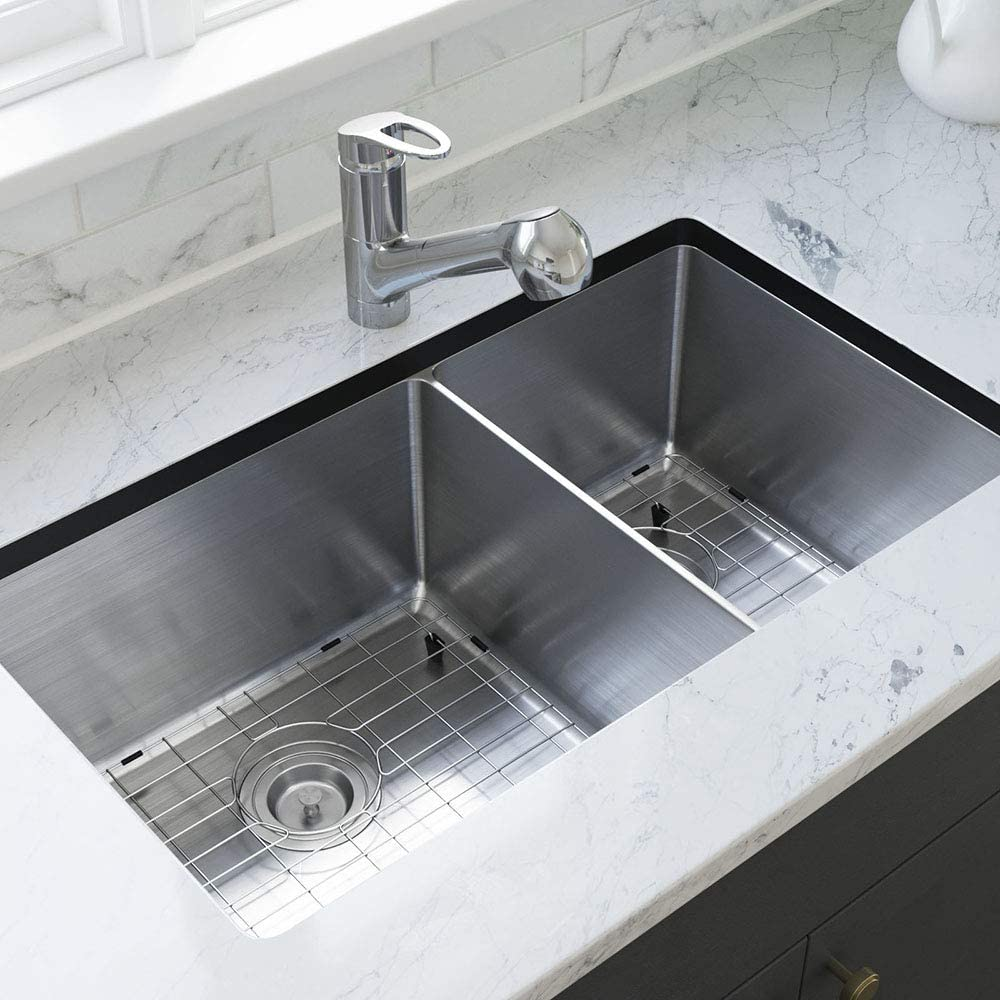MR Direct specialty shop 3160L-14-SLBL-ENS Kitchen with Japan Maker New Sink SinkLi Accessories