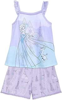 Elsa and Olaf Short Sleep Set for Girls - Frozen Multi