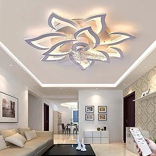 Ventilator Plafondlamp Dimbare Plafondventilator Met Verlichting LED-plafondlamp Met Ventilator 100W Moderne Mute Fan Plaf...