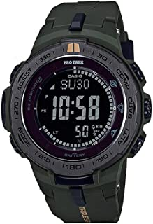 Men's Pro Trek PRW3100Y-3 Green Rubber Quartz Sport Watch