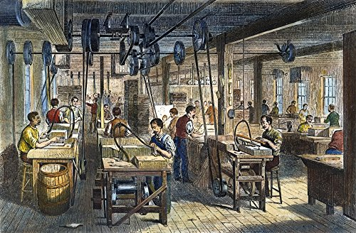 Piano Manufacturing 1878 Nview In The Action Room Of The Chickering Pianoforte Manufactory New York City Line Engraving 1878 Poster Print by (24 x 36) -  Granger Collection, GRC0009941LARGE