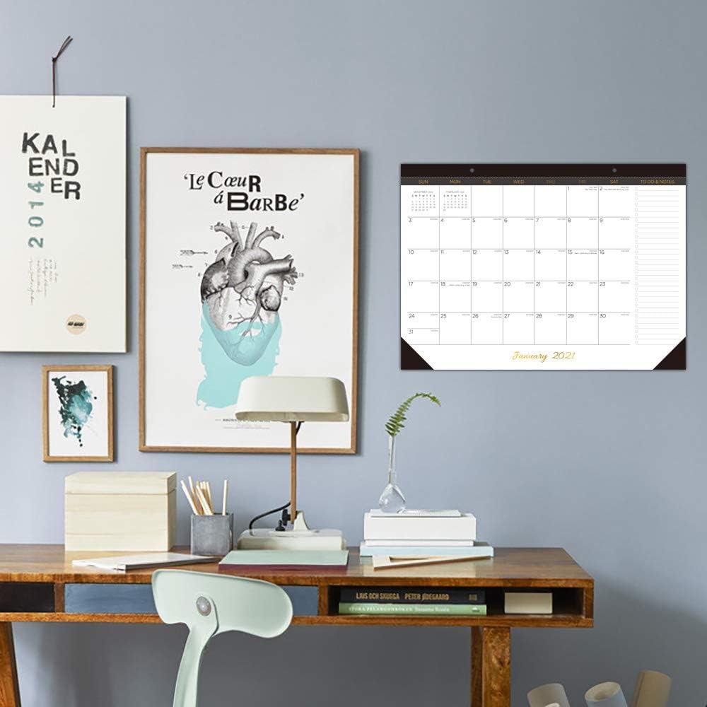 Buy Desk Calendar 2021 2022 Large Monthly Desk Pad Calendar For Planning Organizing 19 Months Desktop Wall Calendar Runs From June 2021 To December 2022 Size 17 X 12 Online In Vietnam B089qc893j
