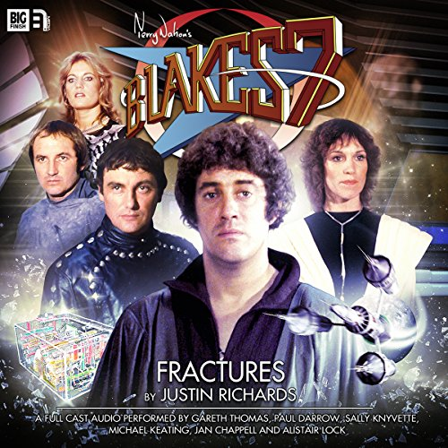 Blake's 7 1.1 Fractures                   By:                                                                                                                                 Justin Richards                               Narrated by:                                                                                                                                 Gareth Thomas,                                                                                        Paul Darrow,                                                                                        Michael Keating,                   and others                 Length: 1 hr and 4 mins     1 rating     Overall 5.0
