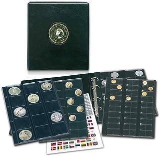 Münzenalbum: Album für 134 Münzen in verschienen Größen