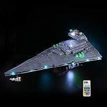 LED Verlichting voor Lego Star Wars Imperial Star Destroyer, Light Kit Compatibel met Lego 75252(Niet Inbegrepen Lego-Model)