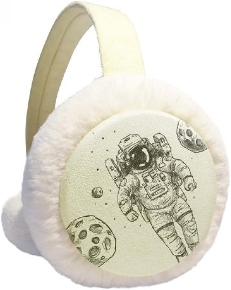 Universe Alien Monster Large discharge sale Brand Cheap Sale Venue Astronaut Winter Warmer Knit Cable Ear Fu