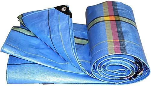Qing MEI Toile Antipluie Bache Imperméable à l'eau Parasol épaississement Camion Huile De Pétrole Ultra Légère Prougeection Solaire Canopée Feuille De Plastique A+ (Taille   6×8m)