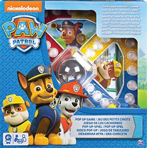 Spin Master Games 6028796 PAW Patrol - Spiel Sorry mit Pop-up-Würfel