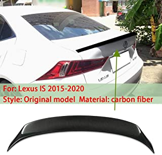 WY Applicable to Lexus IS 2015-2020 original model style Car rear bumper spoiler aileron Trunk Fixed-wing Lip
