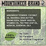 Mountaineer Brand All Natural Deodorant Stick by Mountaineer Brand | Stay Fresh With Safer Ingredients | 3.25 oz (Timber… 5