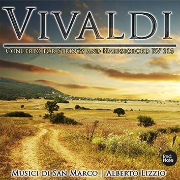 Vivaldi : Concerto for Strings and Harpsichord RV 116
