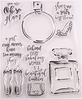 Tampons en silicone transparents, bouteille de parfum à faire soi-même en silicone transparent avec sceau pour scrapbookin...
