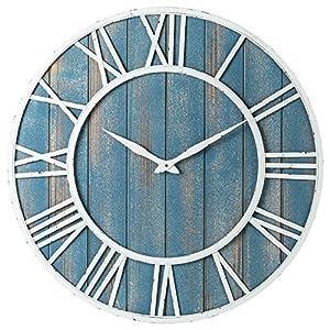 61xUBwhldDL._SS300_ Coastal Wall Clocks & Beach Wall Clocks