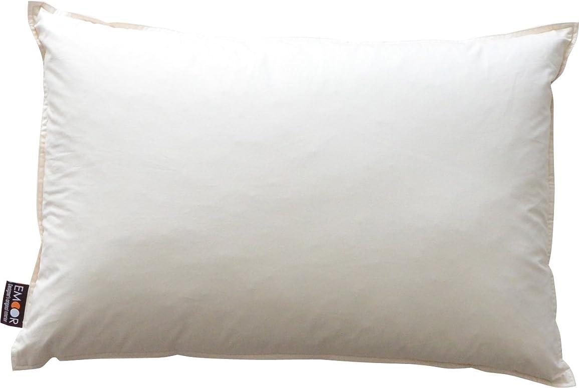 防水翻訳者多様なエムール ホテル仕様 羽根枕 『リッチフェザーピロー』 約43×63cm 日本製