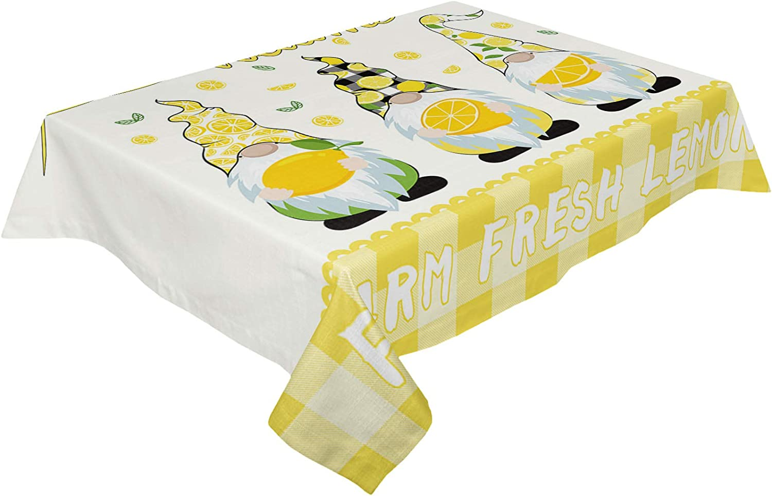 Infinidesign Happy Ranking TOP9 Gnomes Table 60x120inch Free shipping New Spill-Proof Cover No