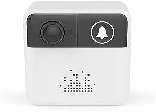 WIFI Deurbel, Smart IP Video Intercom Draadloze Video Deurtelefoon IR Alarm Camera voor Home Security Appartementen,Doorbell