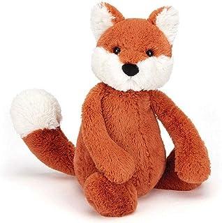 Jellycat Bashful Fox Cub Stuffed Animal, Medium, 12 inches