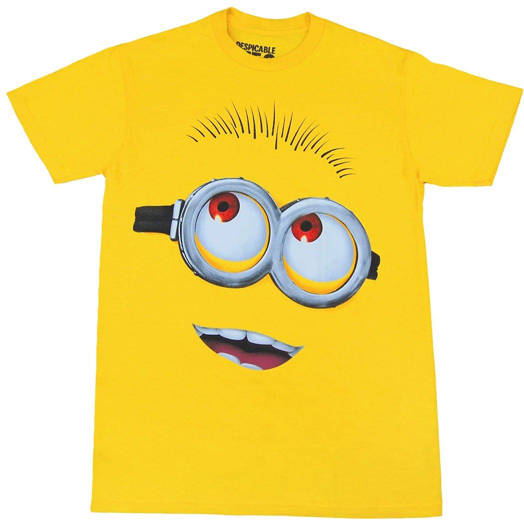 Despicable Minion Face Costume Adult T-Shirt