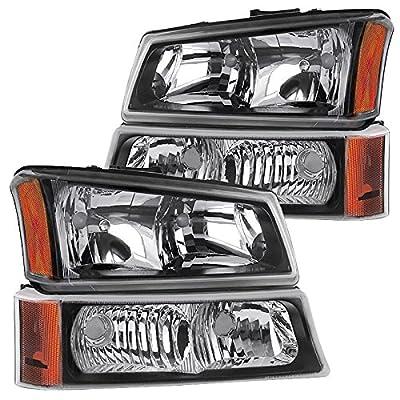 RXMOTOR Replacement Headlight Bumper Signal