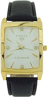 Carat Carat01 - Reloj para Hombres, Correa de plástico Color Negro