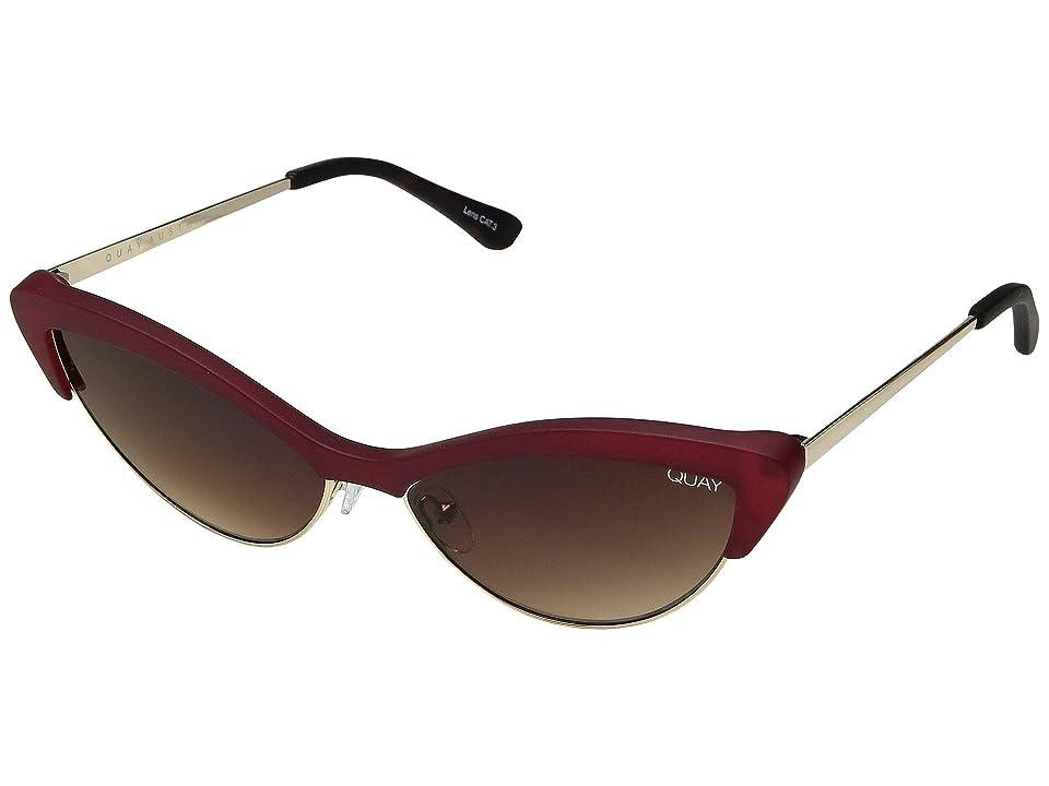 QUAY AUSTRALIA All Night (Red/Brown) Fashion Sunglasses