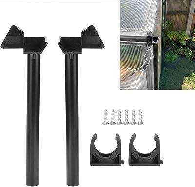 Yosoo Greenhouse Rainwater Gutter Water Butt Down Pipe Kit Drainage Downpipe Down Pipe Greenhouse Gutter Accessory Supplies