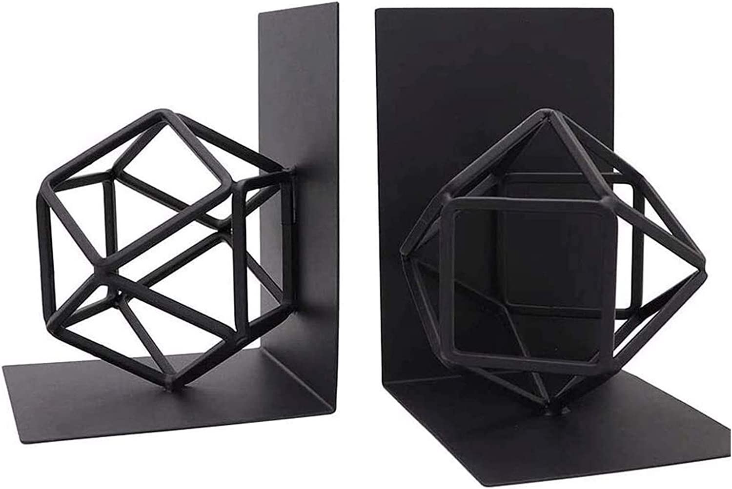 Max 83% OFF WANGLX Decorative Opening large release sale Bookends Book Stopper Me Books Ends for