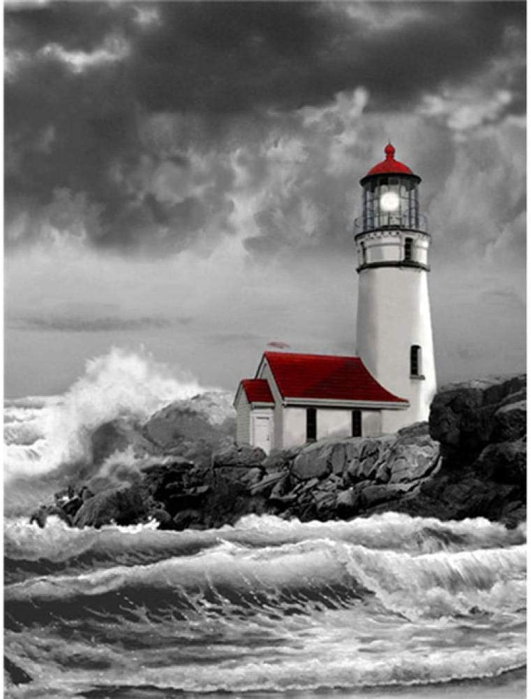 Special price Puzzle for Adults New product! New type 1000 Piece Floor lighthouse-2000Inspirational