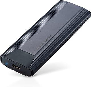 ロジテック M.2 SSD ケース NVMe USB3.2(Gen2) Win/Mac データ移行ソフト付 ネジ・工具不要 LGB-PNV02UC/S