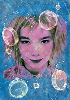 STAR DESIGN #sh101 Björk chance A4サイズ 【ペーパーポスター】 A4 (210×297mm) bjork ビョーク シャネル チャンス オマージュ アート ポスター