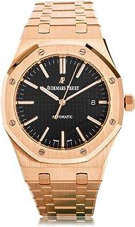 Audemars Piguet Royal Oak Selfwinding with Black Dial 41mm 18k Rose Gold Watch 15400OR.OO.1220OR.01