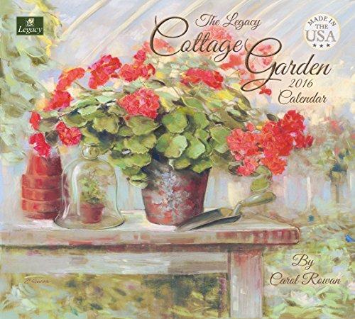 Legacy Publishing Group 2016 Wall Calendar, Cottage Garden (WCA20662)