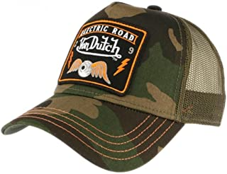 3084f87c5c7a2 Von Dutch Men s Baseball Cap - Army - One Size