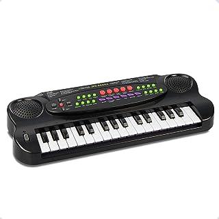 JINRUCHE Kids Piano, 32 Keys Toddle Piano Multifunction Elec