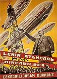A3-Poster, russisches Propagandaplakat von 1931,