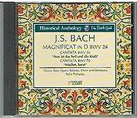 Bach: Magnificat; Cantatas BWV 50 & 70