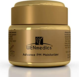 Peptide Face Cream With Syn-col - Skin Repair Renew Face Lotion & Moisturizer - Antiaging Natural Hydrating & Tightening Facial Moisturizer For Mature Sensitive Dry Skin - WENmedics Advance PM