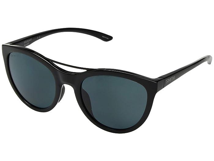 Midtown (Black/Chromapop Black Polarized) Athletic Performance Sport Sunglasses