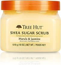 Tree Hut 乳木果磨砂膏 18盎司(510 克)(3 瓶装) Marula/Jasmine 3片装