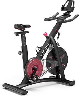 Yesoul S3 Crosstrainer voor thuis, hometrainer, fiets, inklapbaar, verstelbare weerstandsniveaus, fitness hometrainer, spi...