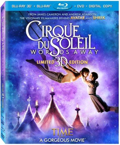 Cirque Du Soleil - Worlds Away (Three-Disc Combo: Blu-ray 3D / Blu-ray / DVD / Digital Copy)