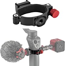 Sutefoto O-Ring Cold Shoe Adapter Extension Mounting Ring with 1 4  Screw Compatible for DJI Osmo Gimbal Accessory